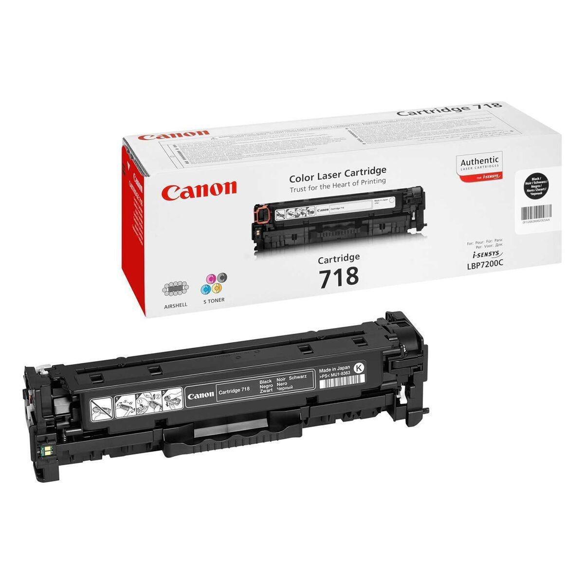 Canon 718 Printer Ink Toner Cartridge 7200CDN