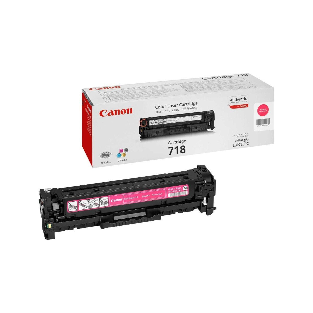 Canon 718 Printer Ink Toner Cartridge 2660B002AA