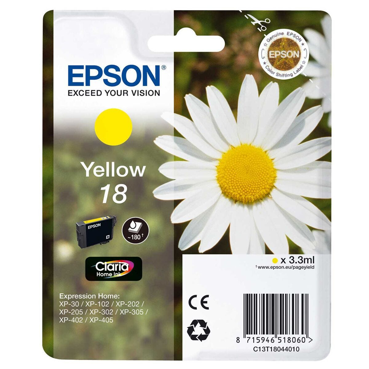 Epson Standard Daisy Ink Cartridge C13T18044010