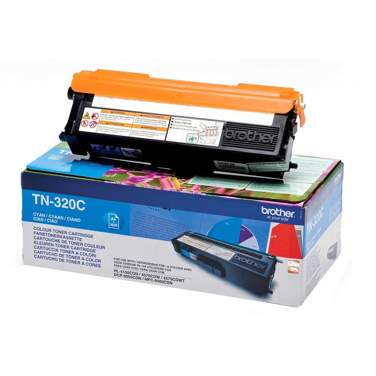Brother TN 320 Ink Toner Printer Cartridge