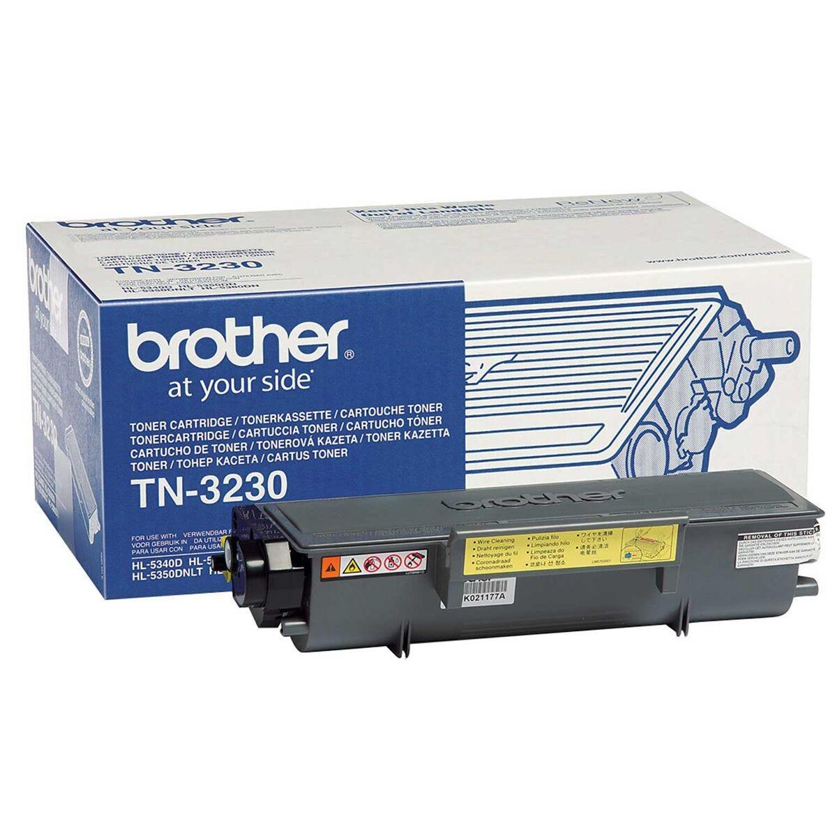Brother TN3230 Mono Ink Printer Toner Cartridge