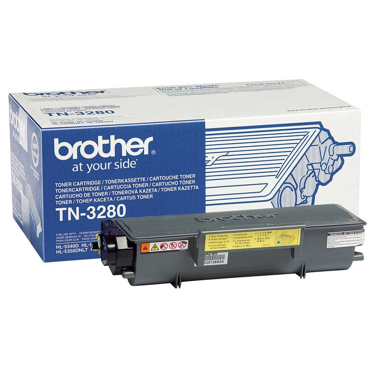 Brother TN3280 Mono Printer Ink Toner Cartridge