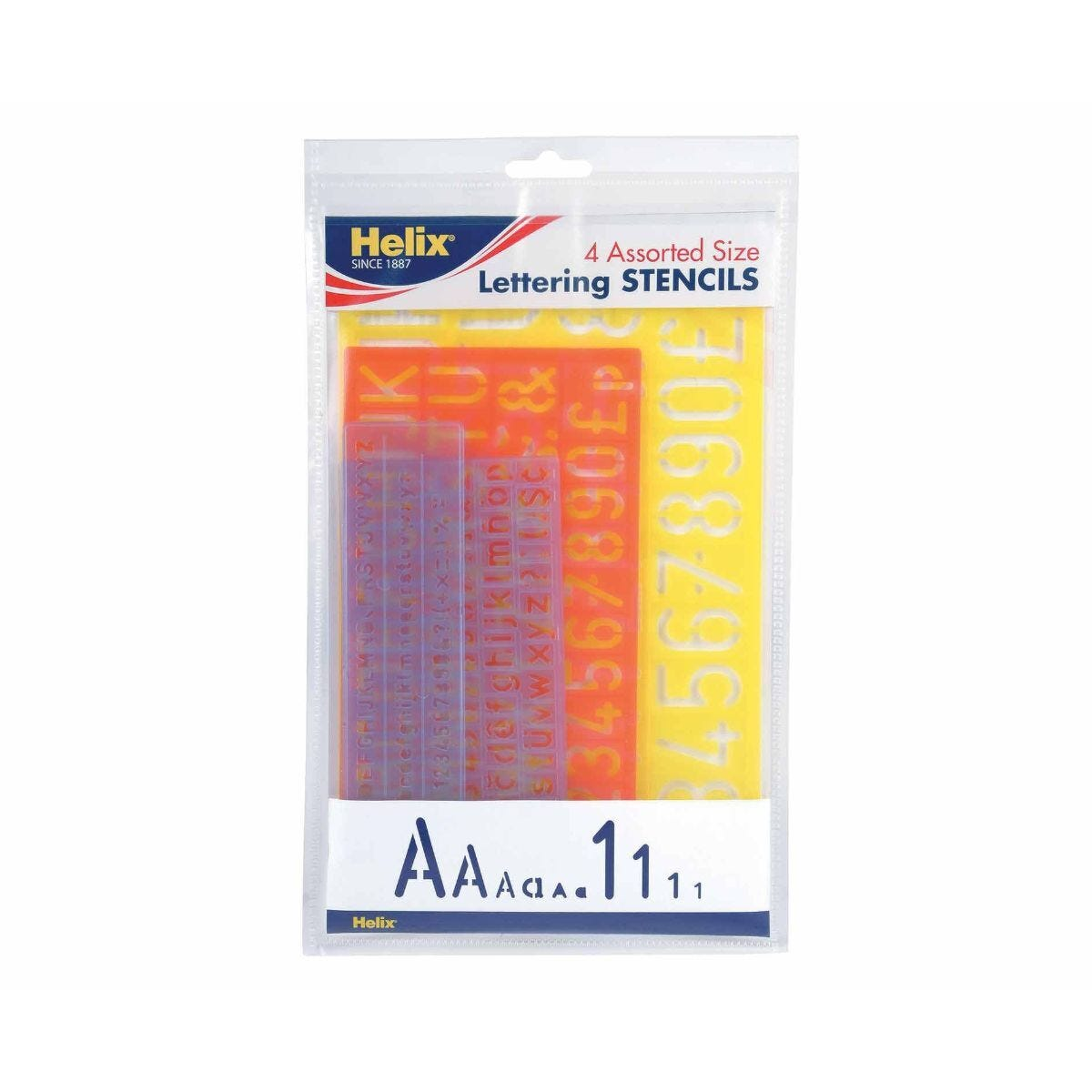 Helix Letter Stencil Multipack