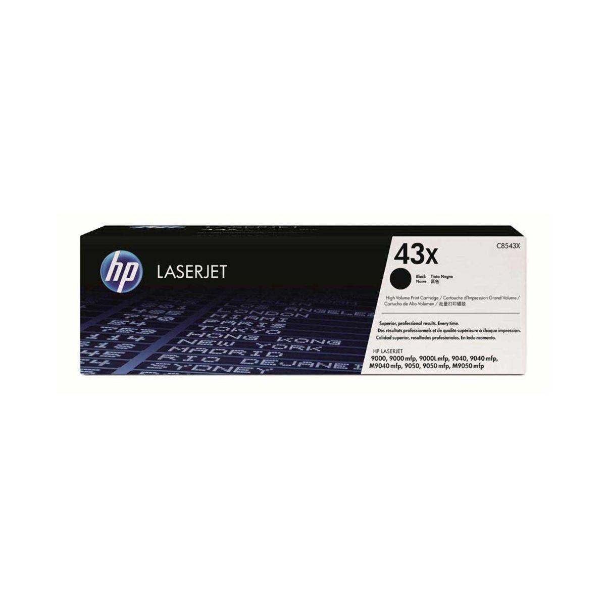 HP 43X Laserjet Printer Ink Toner Cartridge C8543X