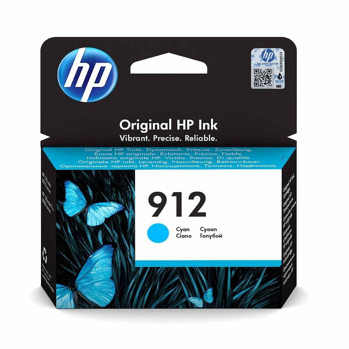 HP 912 Cyan Original Ink Cartridge