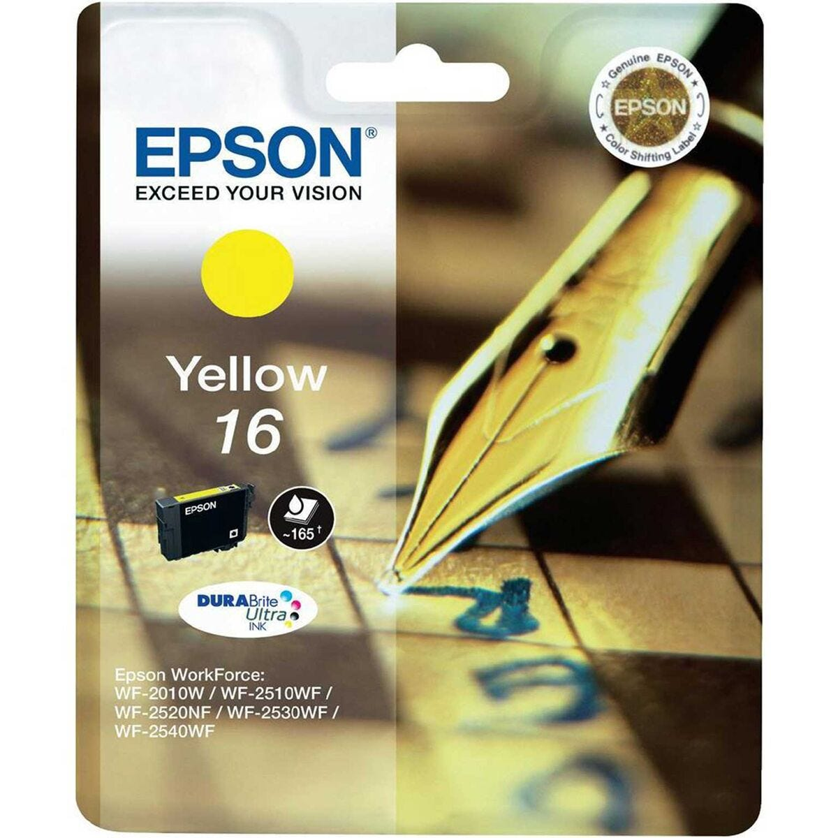 Epson 16 Ink Cartridge Standard Yield
