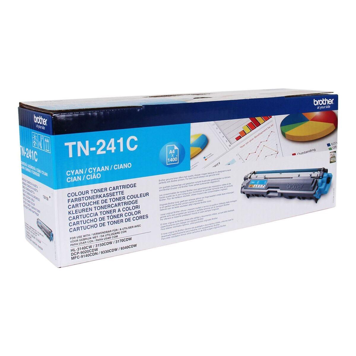 Brother TN241 Colour Laser Toner Cartridge