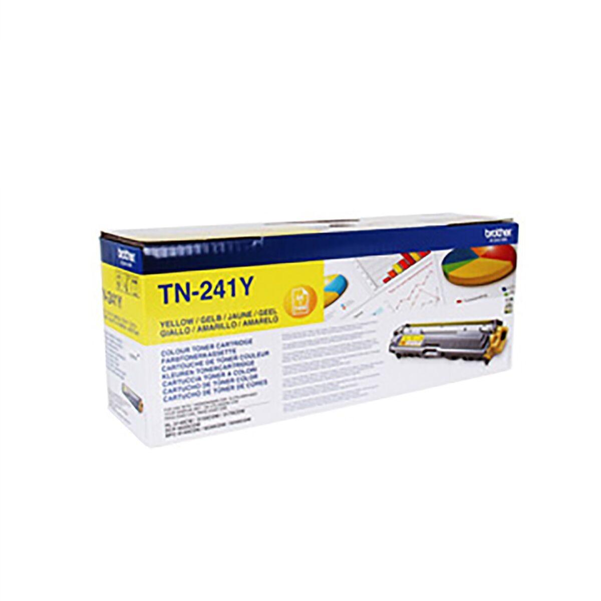 Brother TN241 Colour Laser Toner Cartridge Yellow
