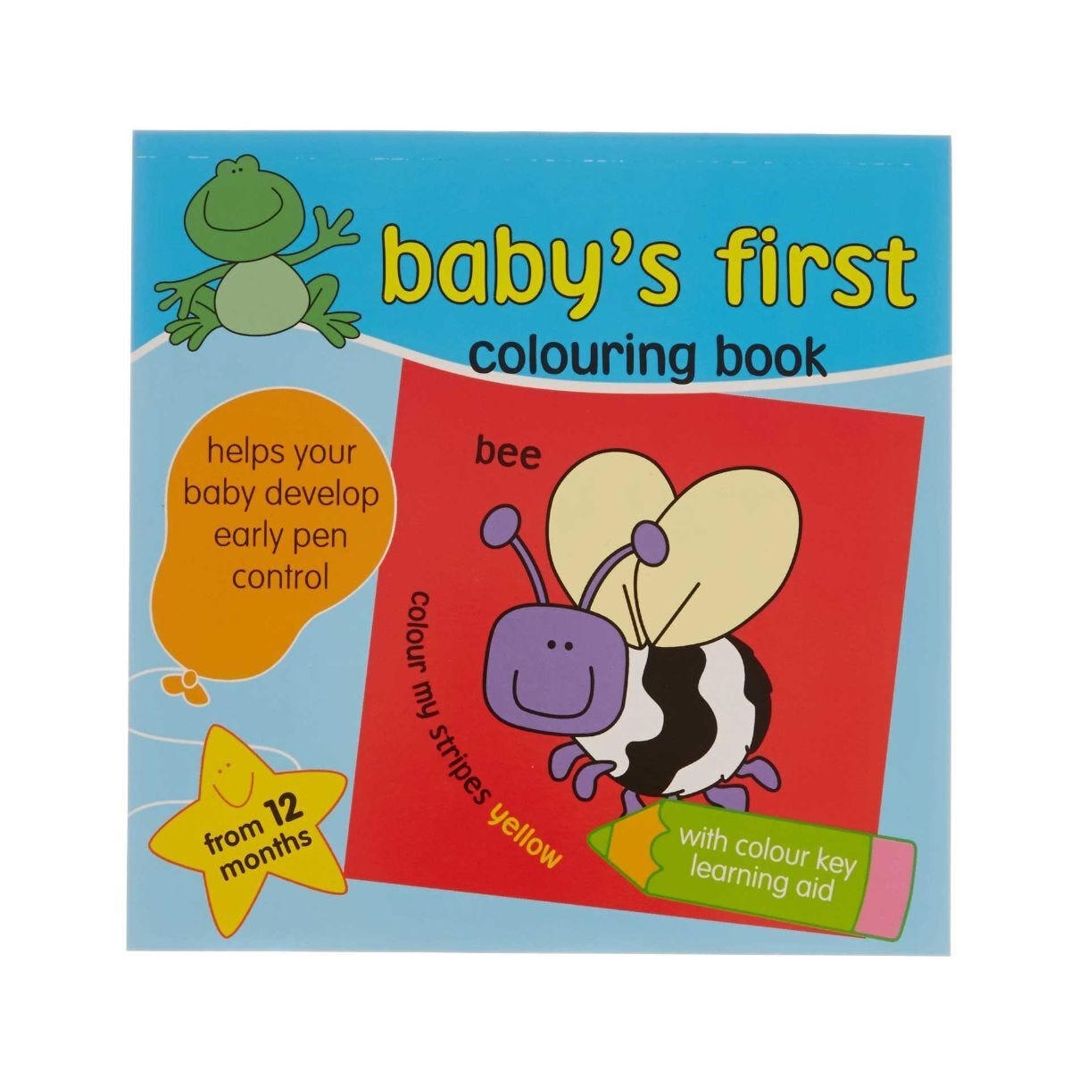 Babys First Colouring Book Assorted