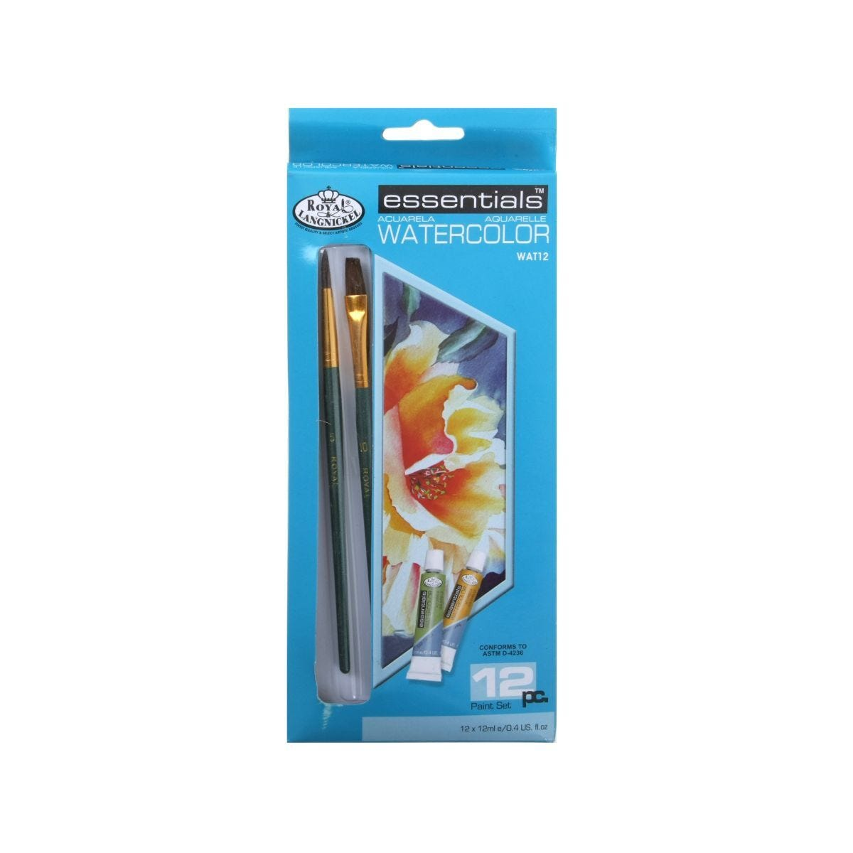 Royal & Langnickel Watercolour Set Pack of 12