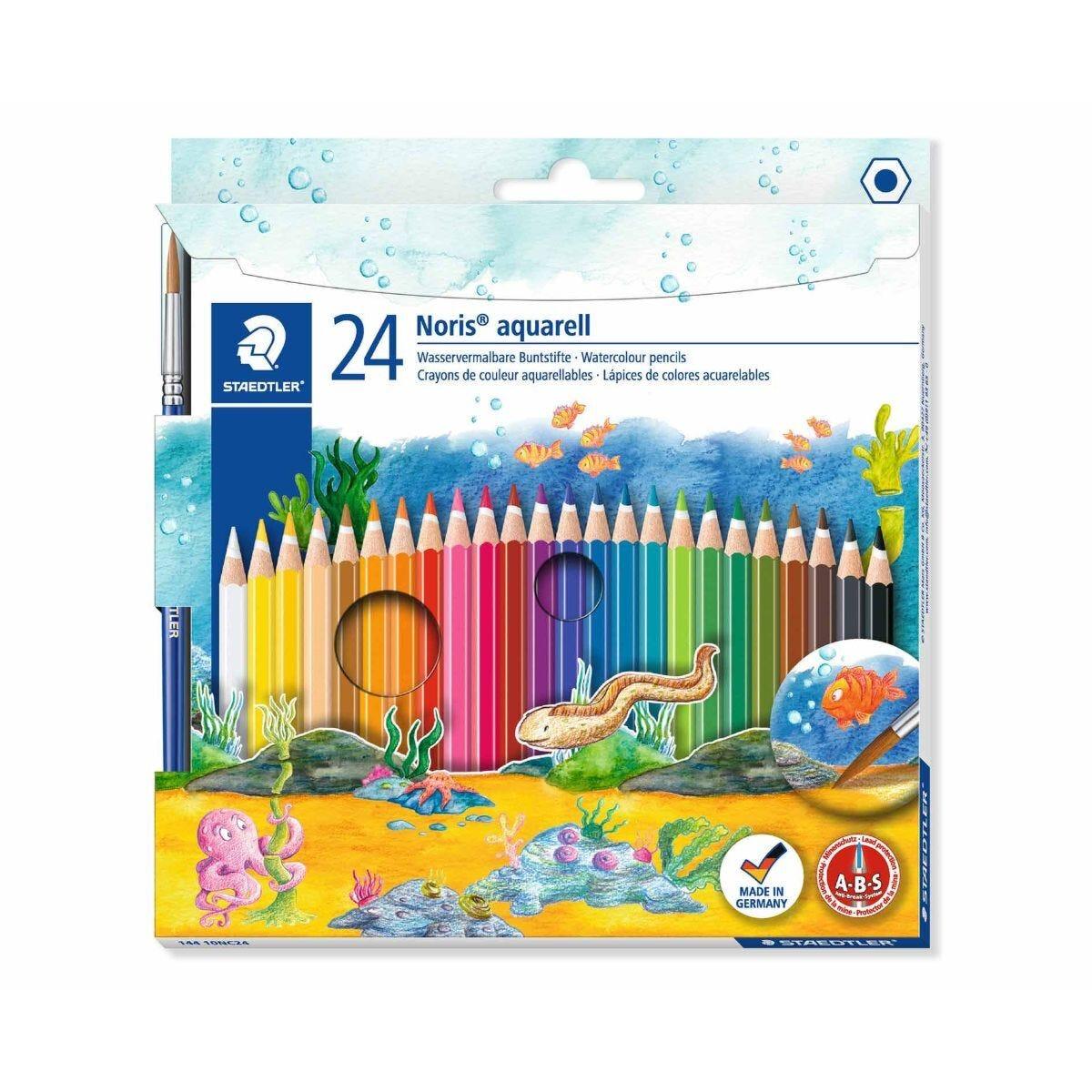 Staedtler Watercolour Pencils Pack of 24