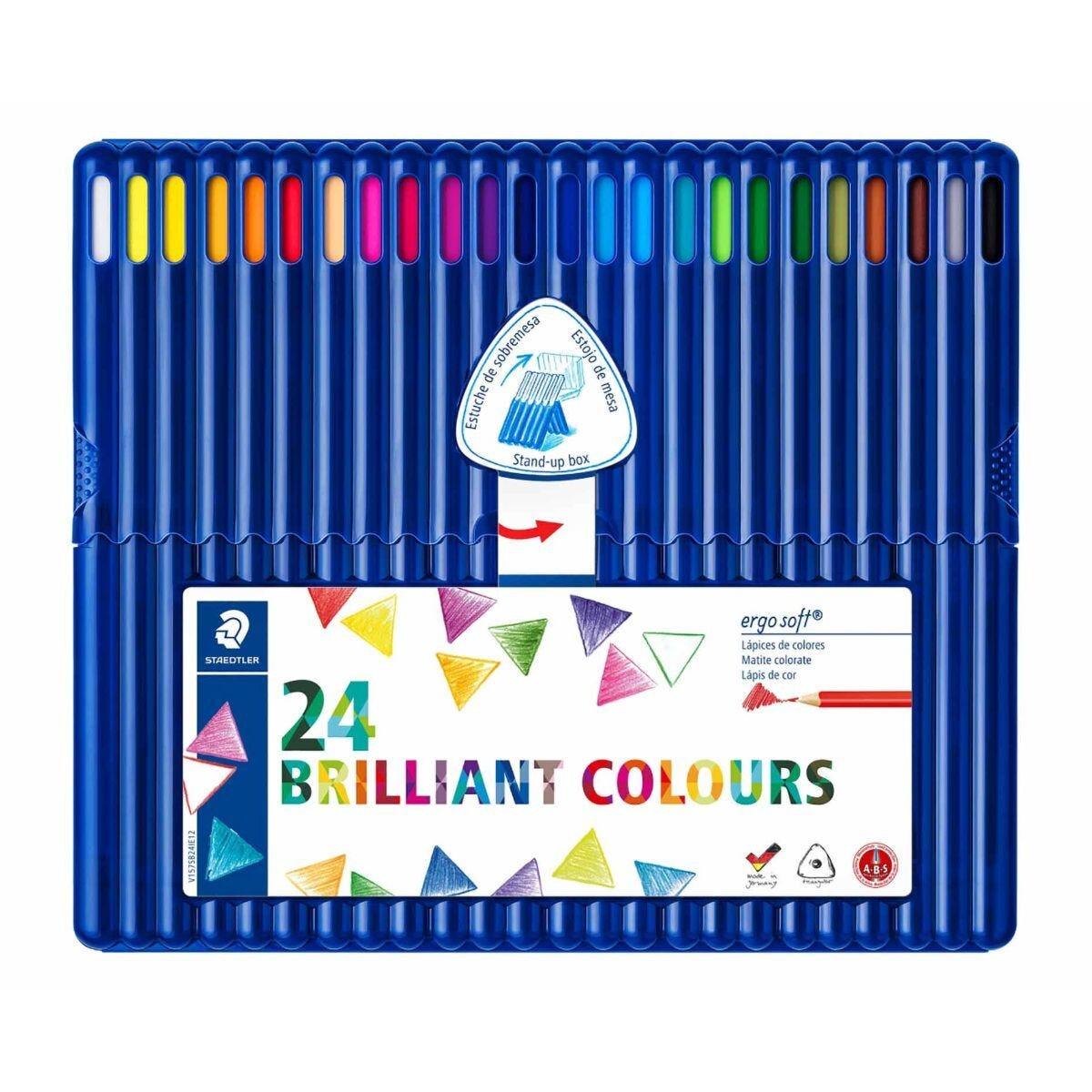 Staedtler Ergosoft Colouring Pencils Pack of 24