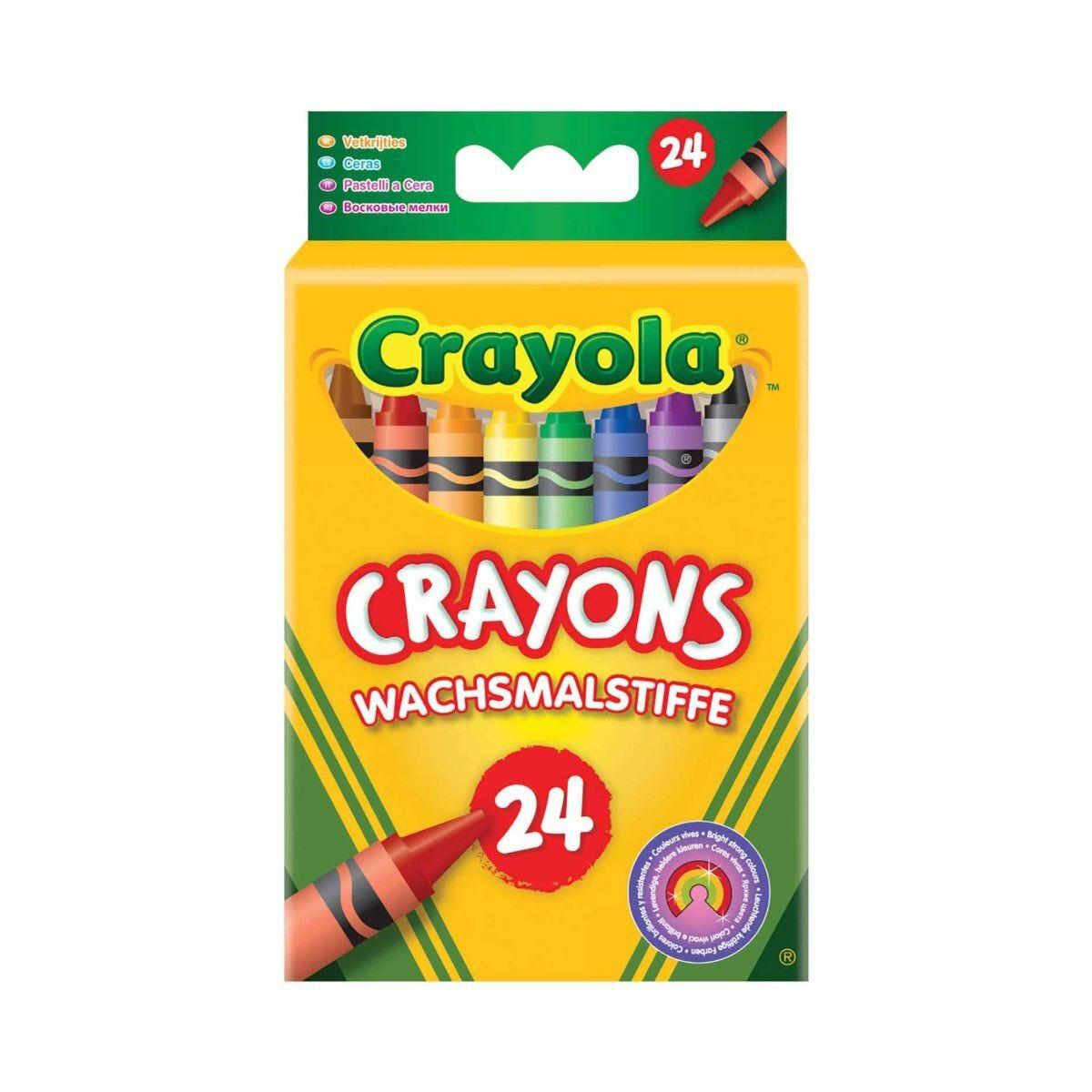 Crayola Wax Crayons Pack of 24
