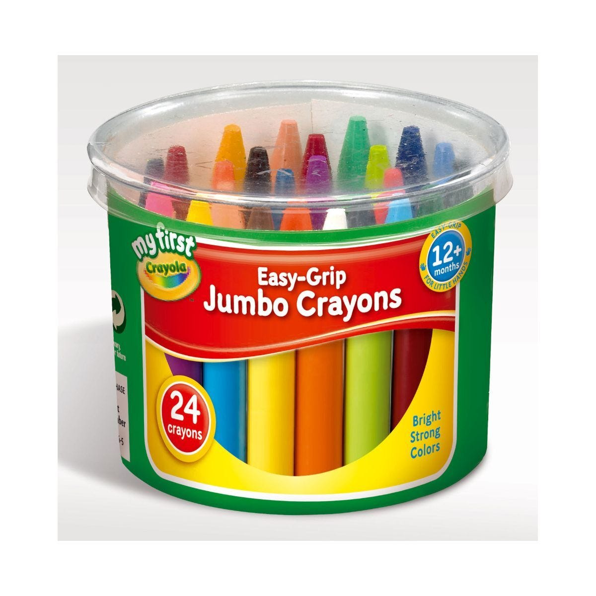 Crayola Jumbo Wax Crayons Tub Pack of 24
