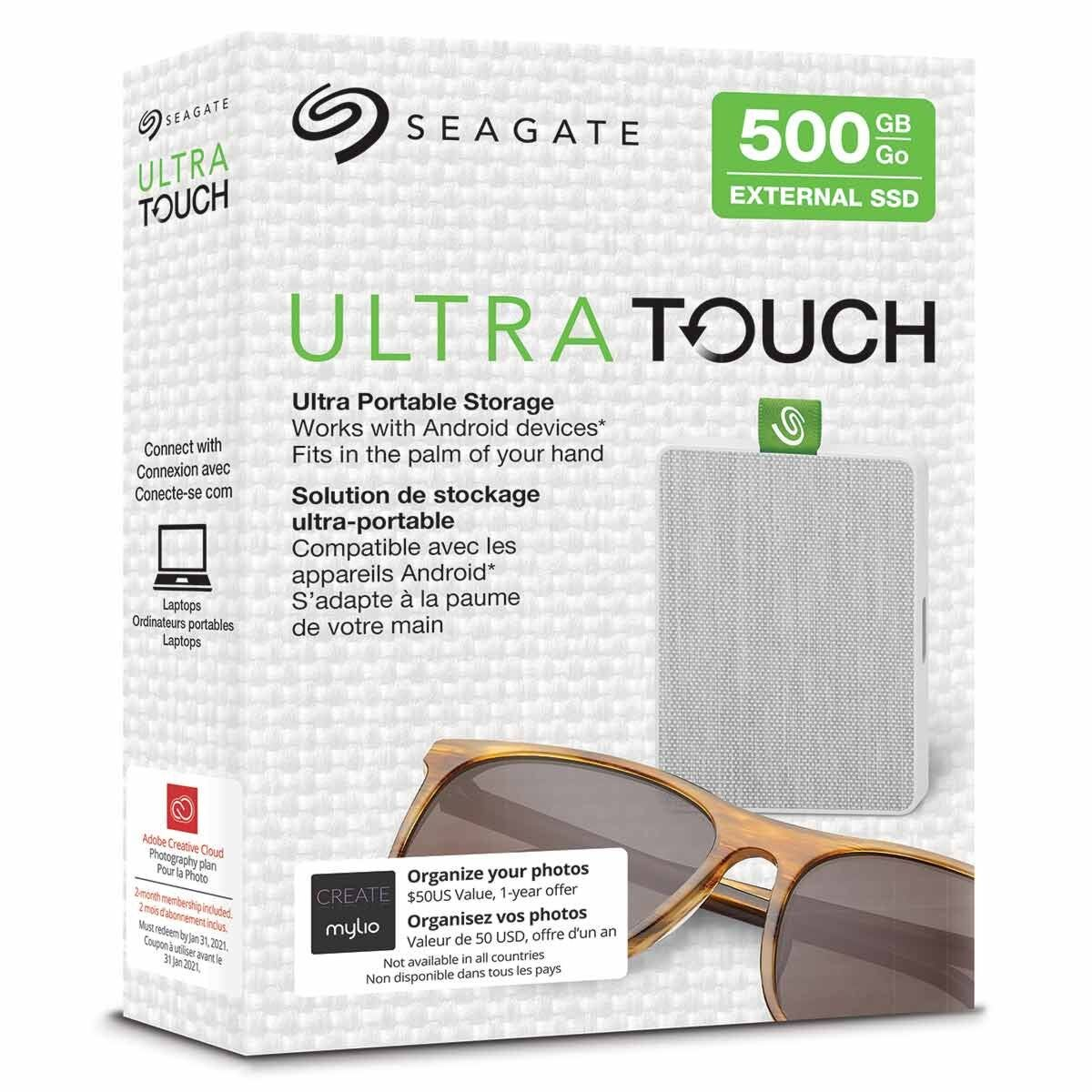 Seagate Ultra Touch Portable SSD 500GB