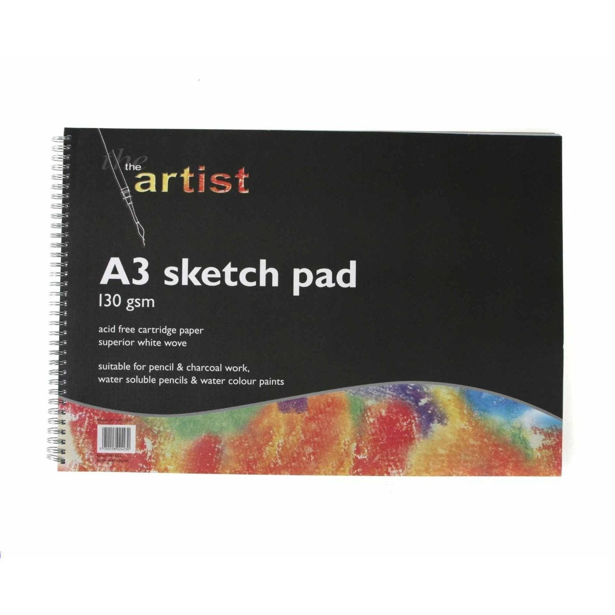 Ryman Sketch Pad A3 130gsm 60 Pages 30 Sheets