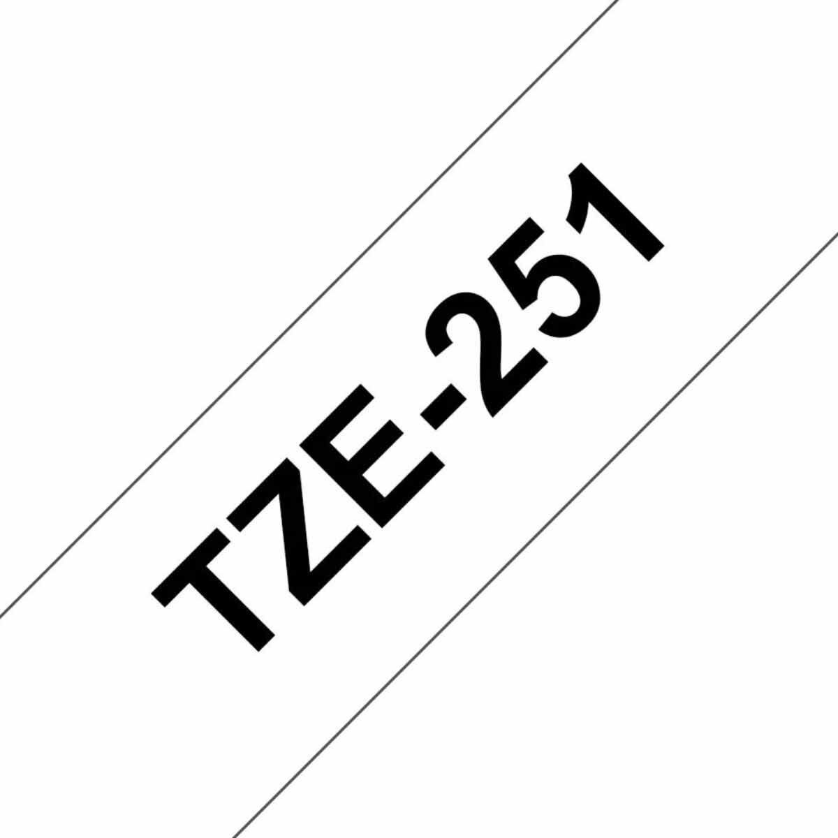 Brother P-Touch TZE251 Tape