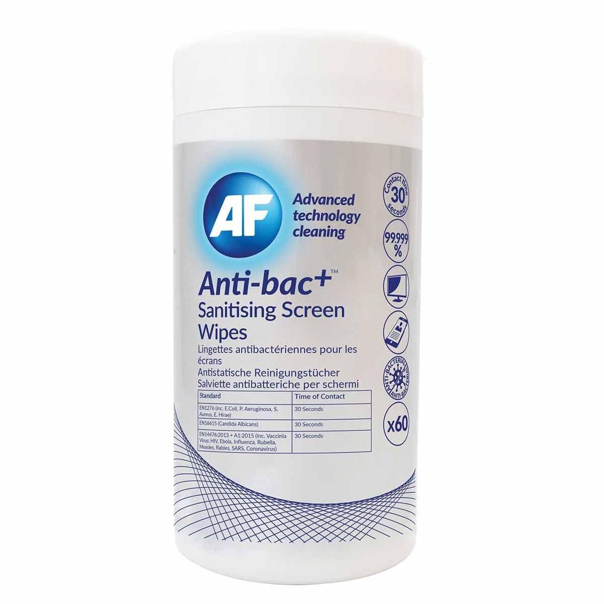 Anti-bac Plus Screen Wipes Pack of 60