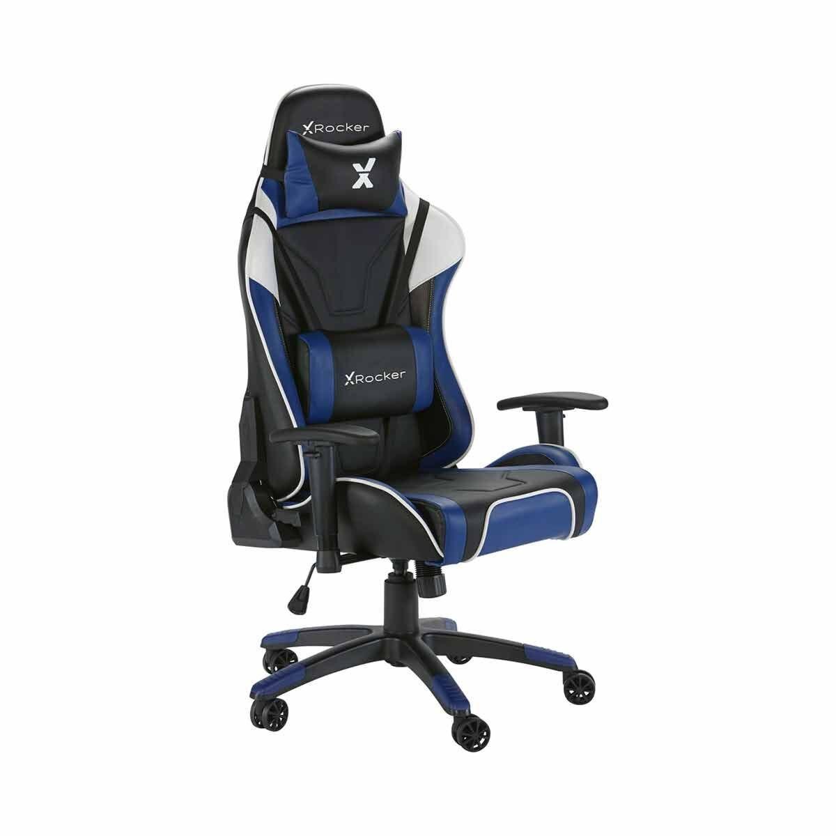 X Rocker Agility eSports Office Gaming Chair Blue