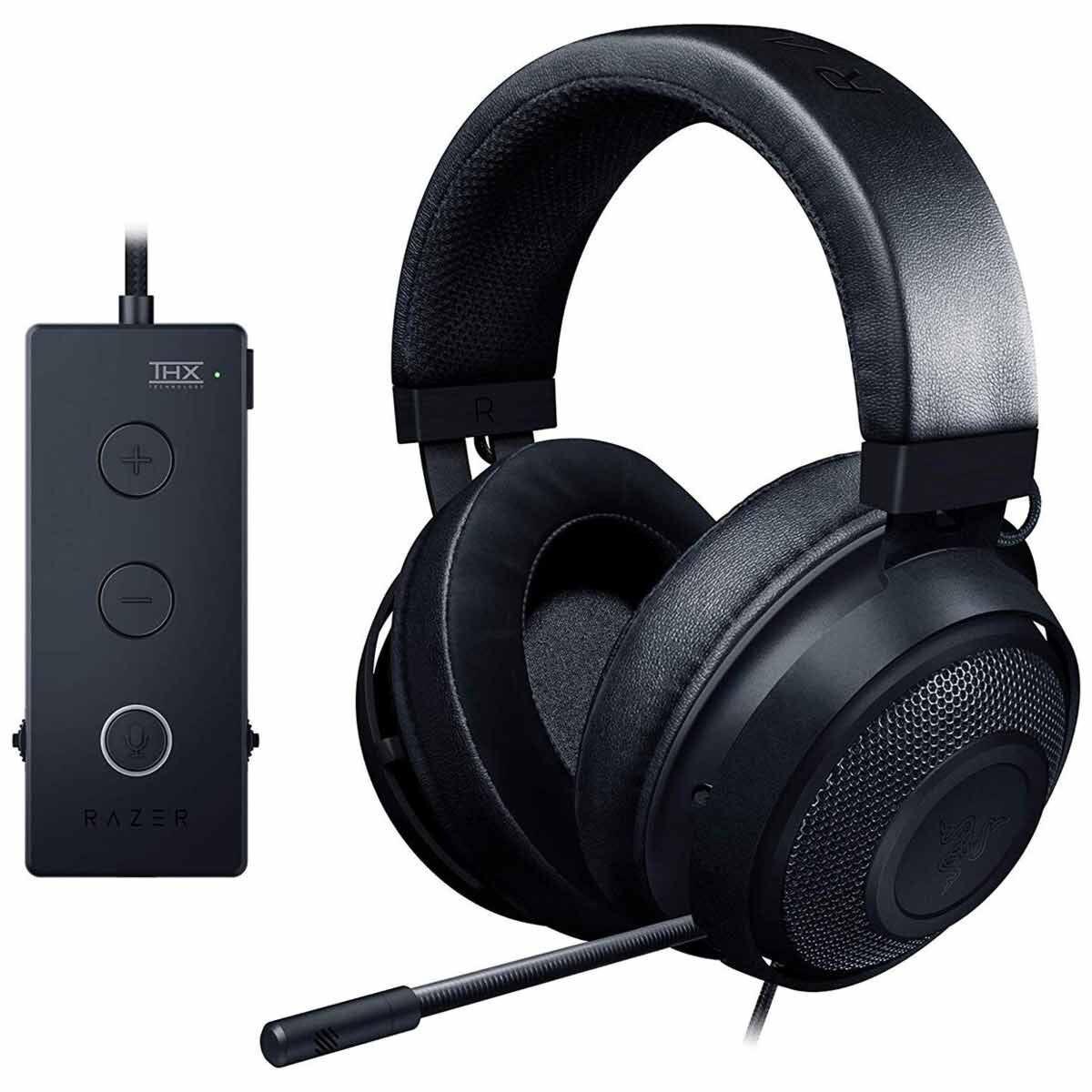 Razer Kraken Tournament Edition Wired Gaming Headset Multi-Platform Black