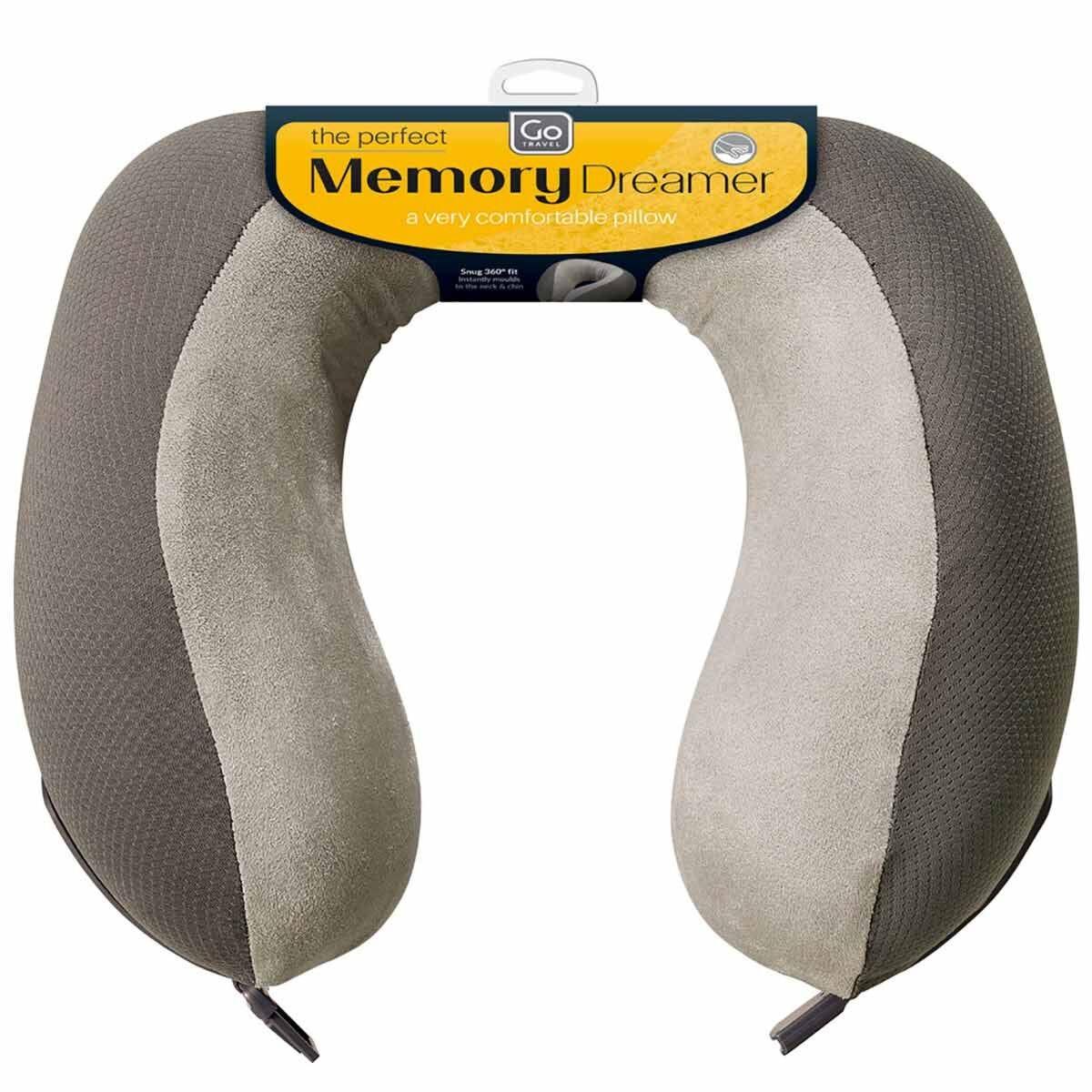 Go Travel Memory Foam Dreamer Neck Pillow