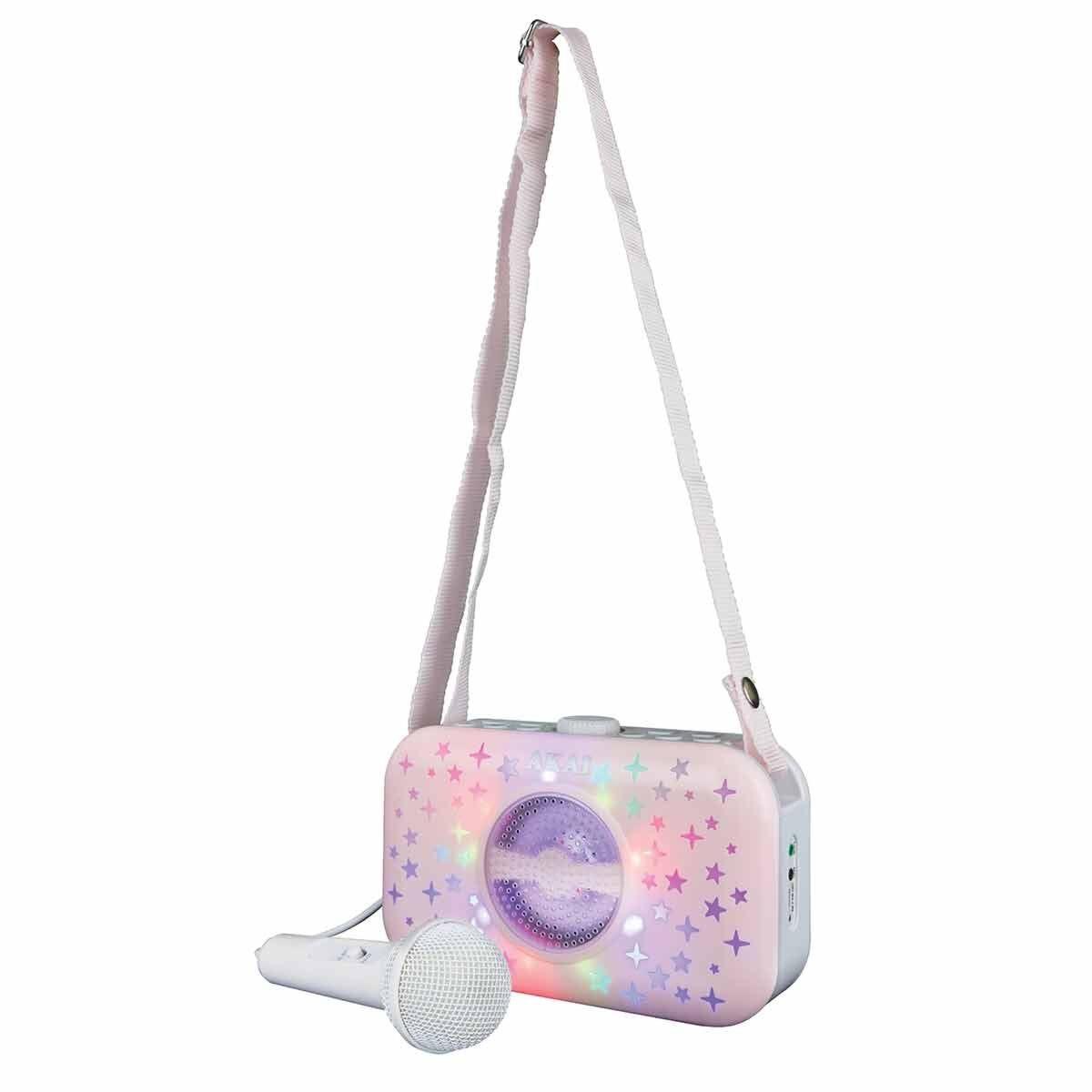 Akai Vibes LED Wireless Handbag Karaoke Speaker