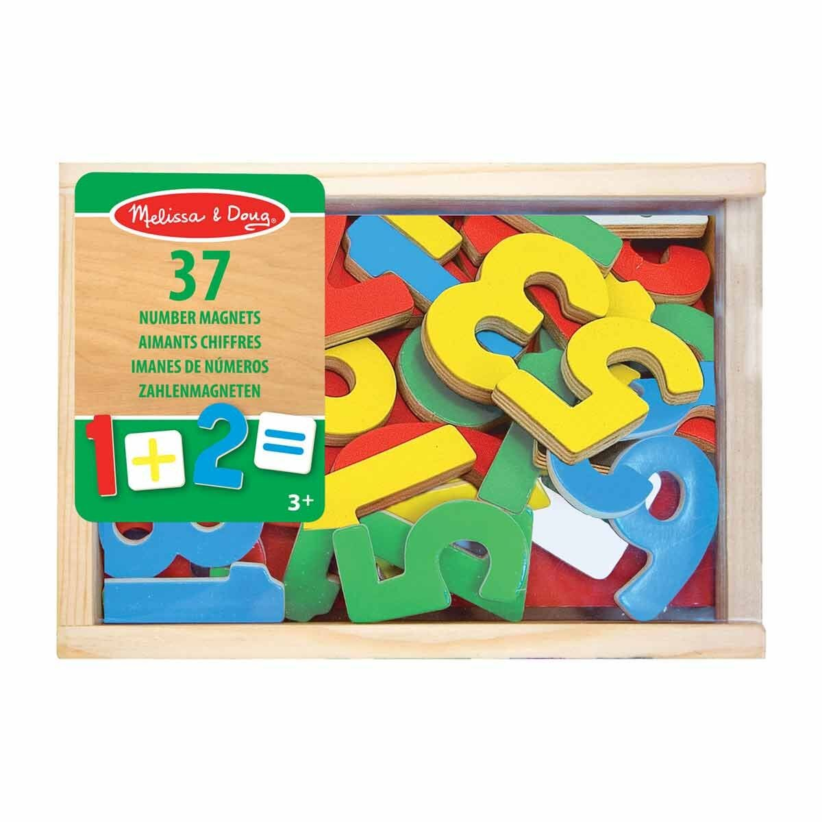 Melissa and Doug Magnetic Wooden Numbers