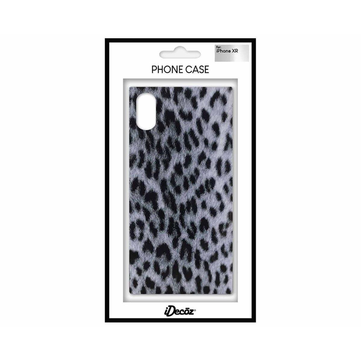 iDecoz iPhone XR Protective Case Leopard Print