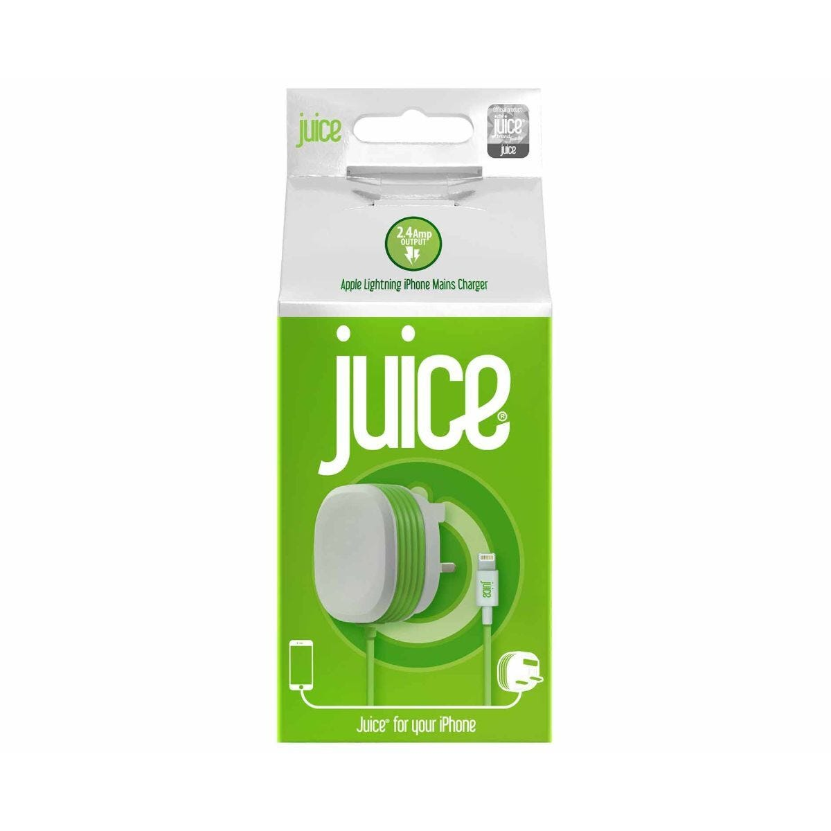 Juice Lightning Mains Charger