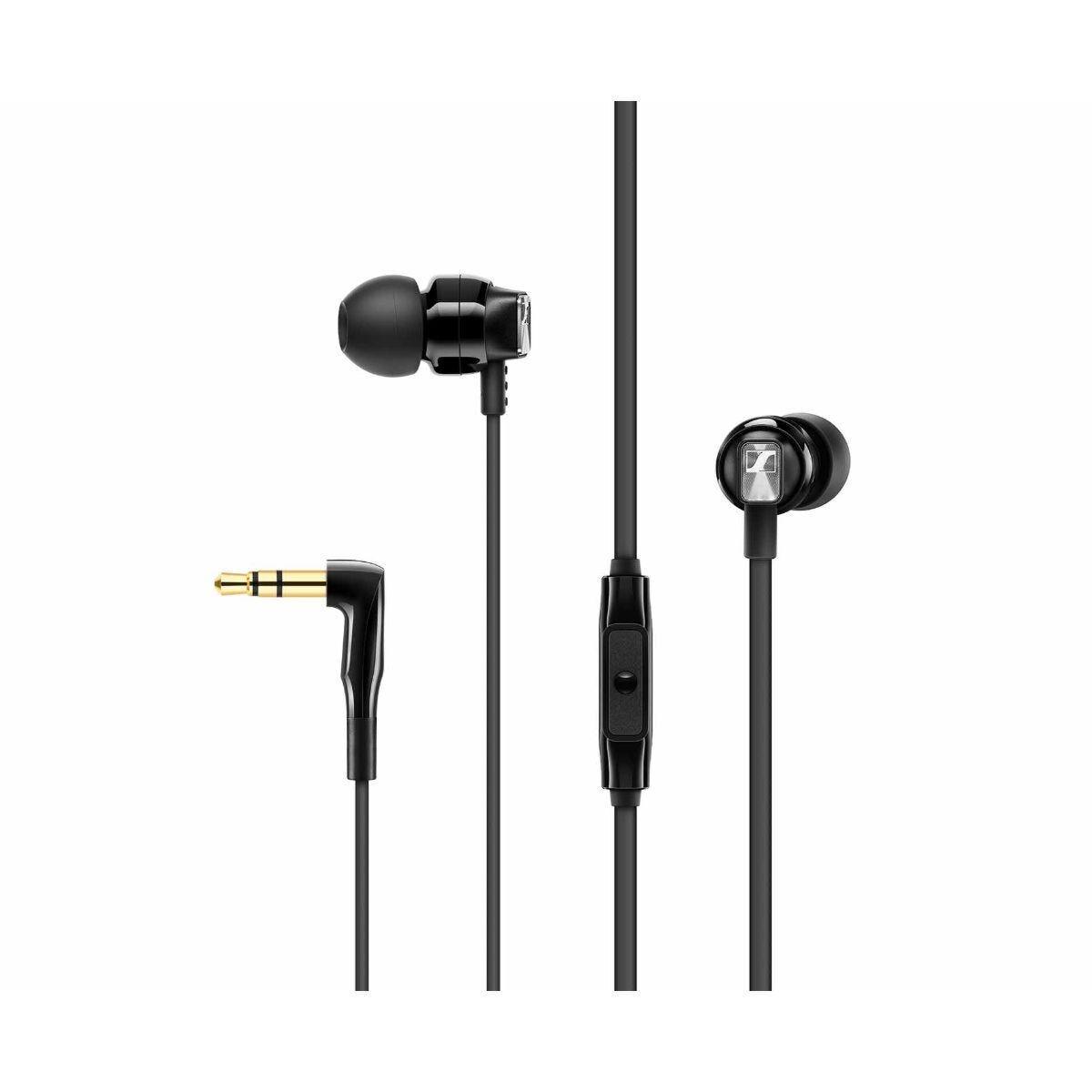 Sennheiser CX300S Wired In-Ear Headphones Black