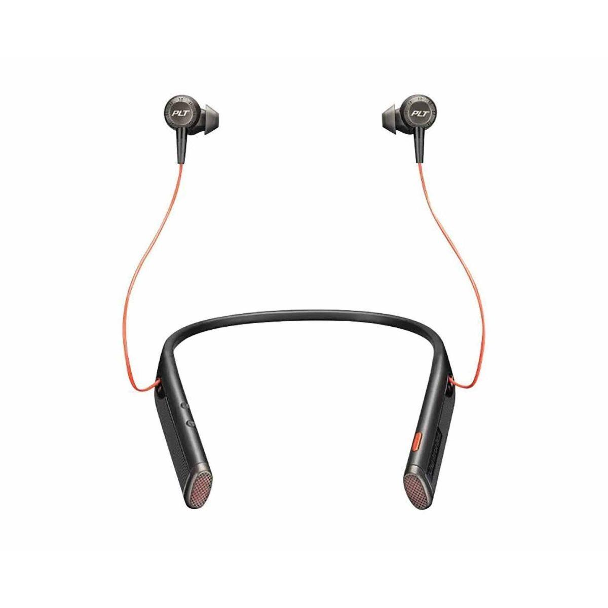Plantronics Voyager 6200 Bluetooth Neckband Headset for UC black