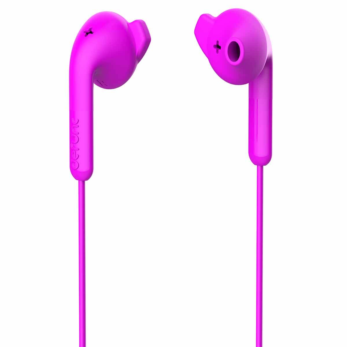 Defunc Basic Hybrid Earphones Pink