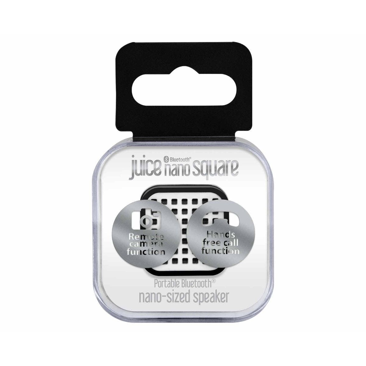 Juice Nano Square Speaker Black