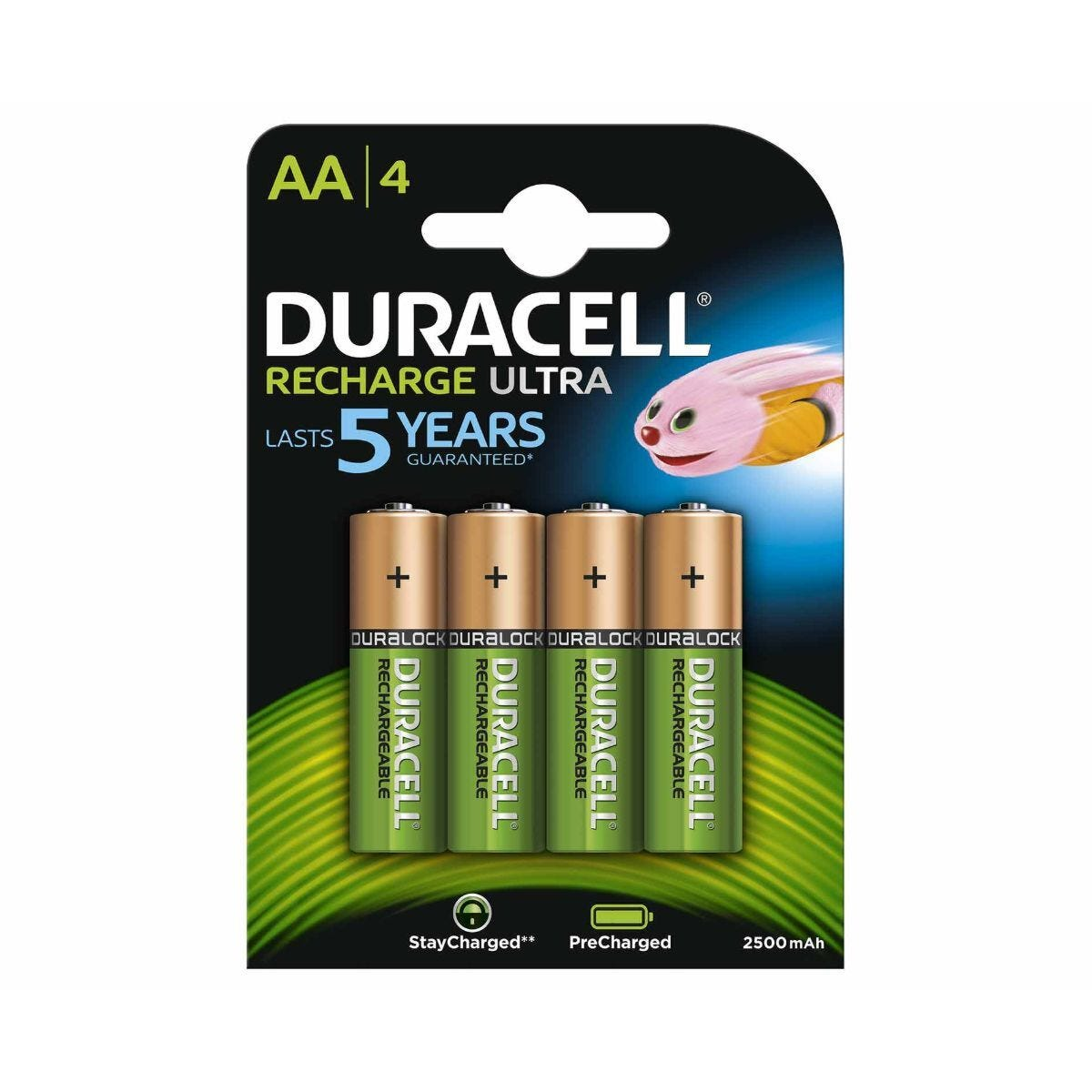 Duracell Recharge Ultra AA Batteries Pack of 4