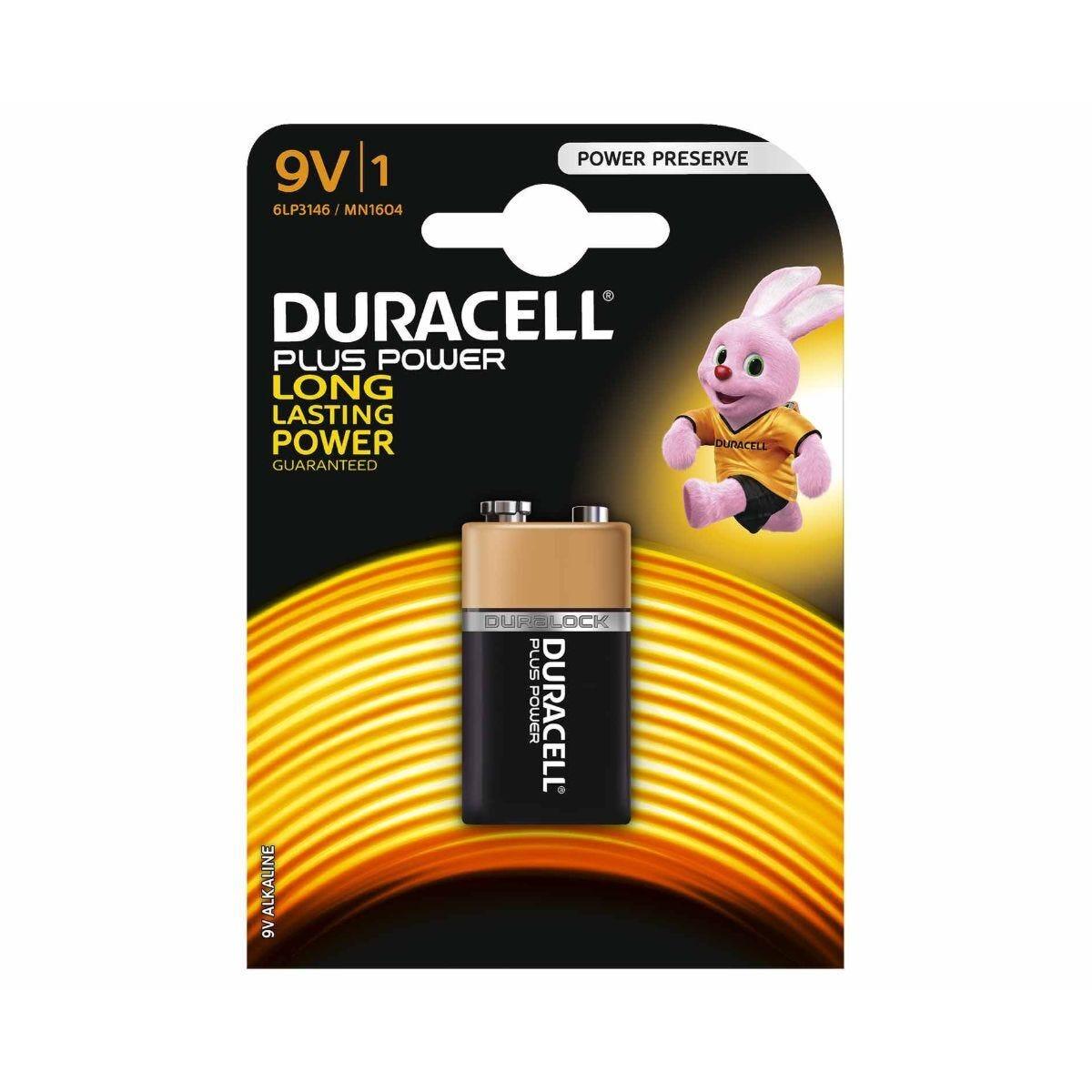 Duracell Plus Power 9V Battery