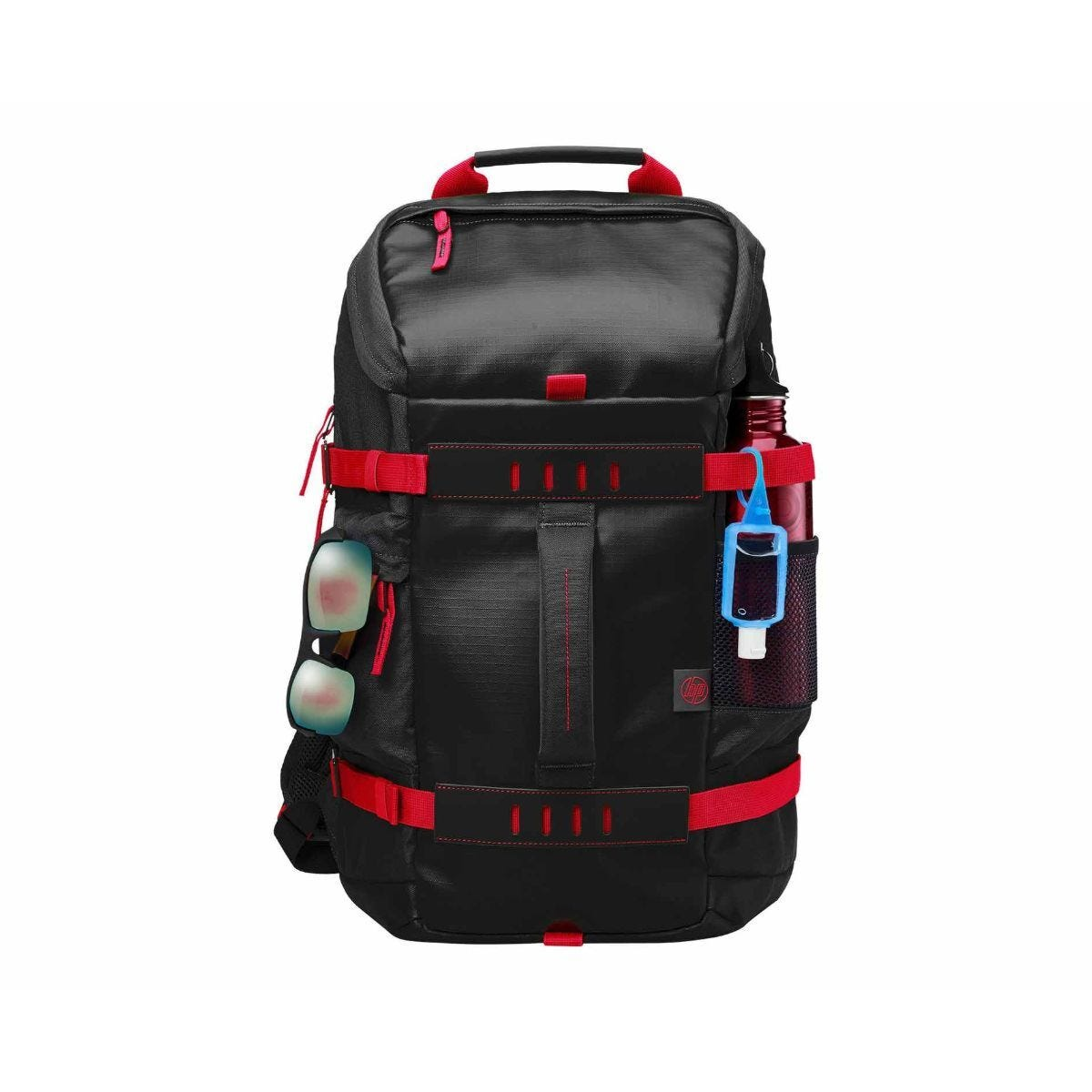 HP Odyssey X0R83AA 15.6 Inch Laptop Backpack - Red and Black