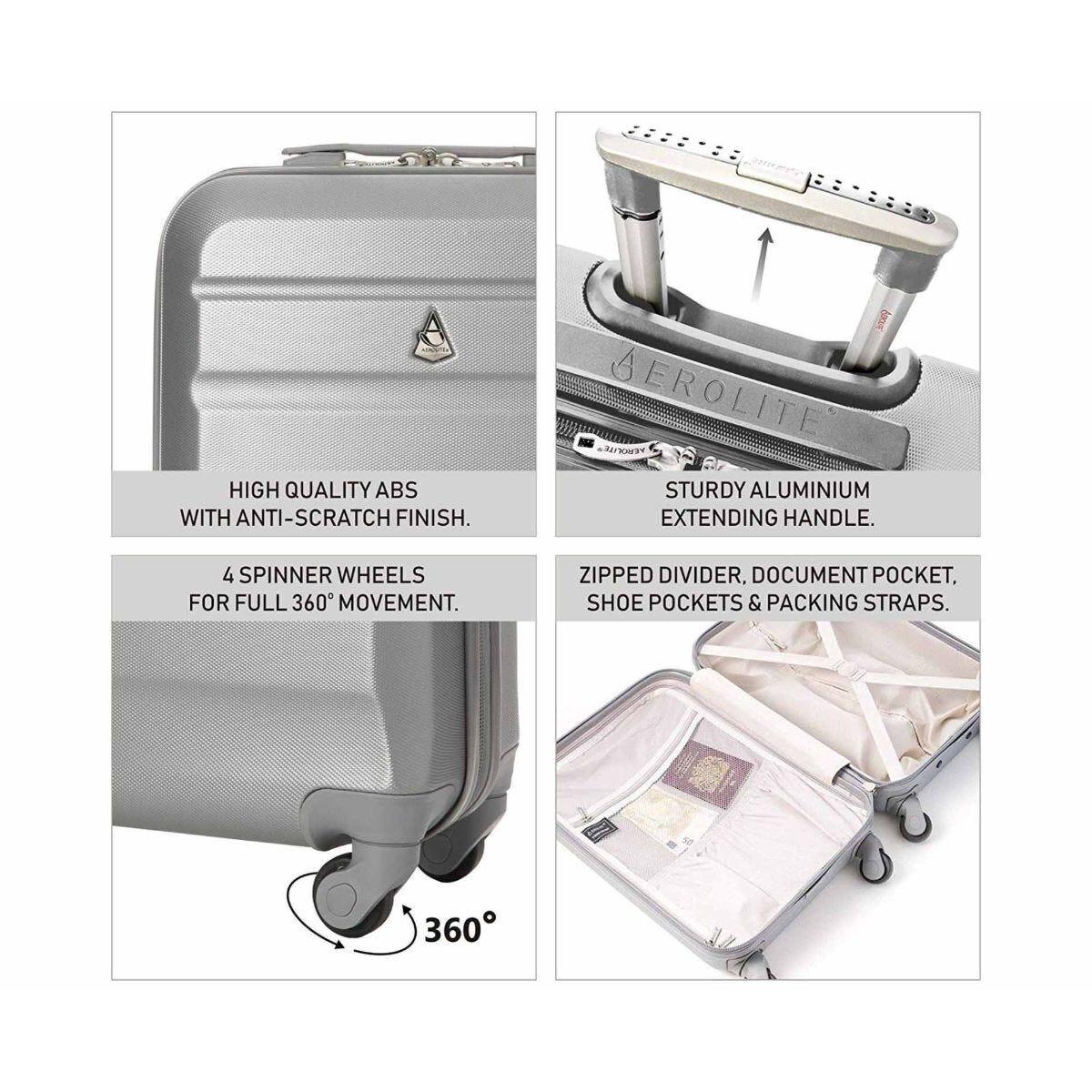 Aerolite Hardshell Cabin Luggage Case