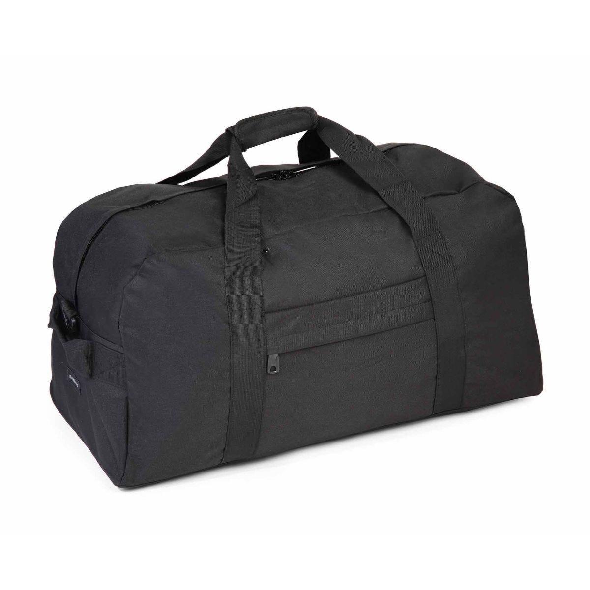 Members by Rock Medium Holdall and Duffle Bag 65cm Black
