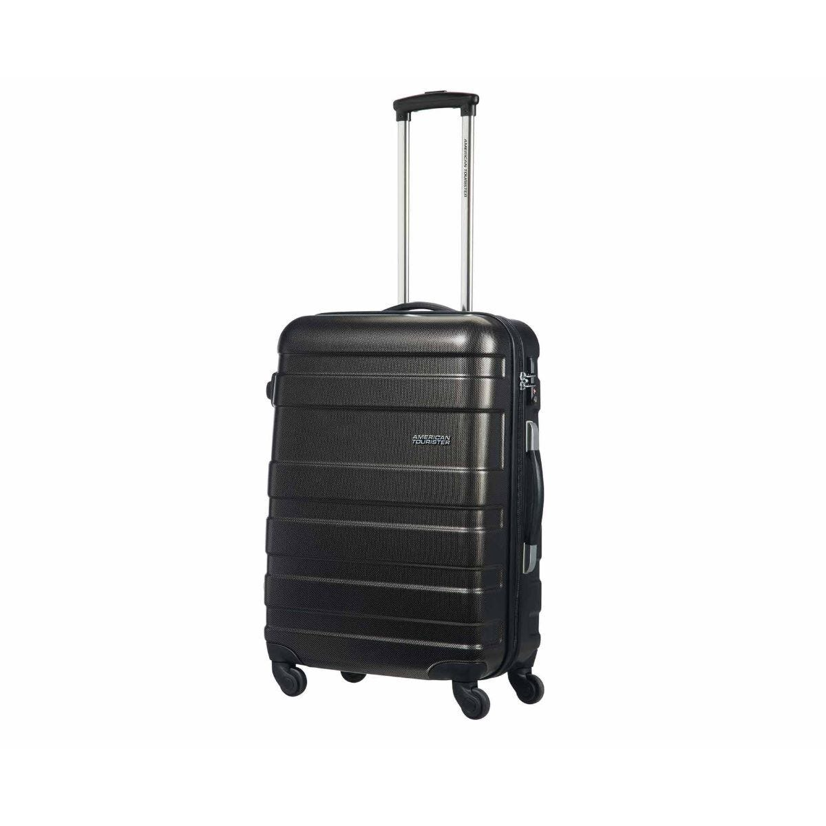 American Tourister Pasadena 4 Wheel Medium Suitcase Black