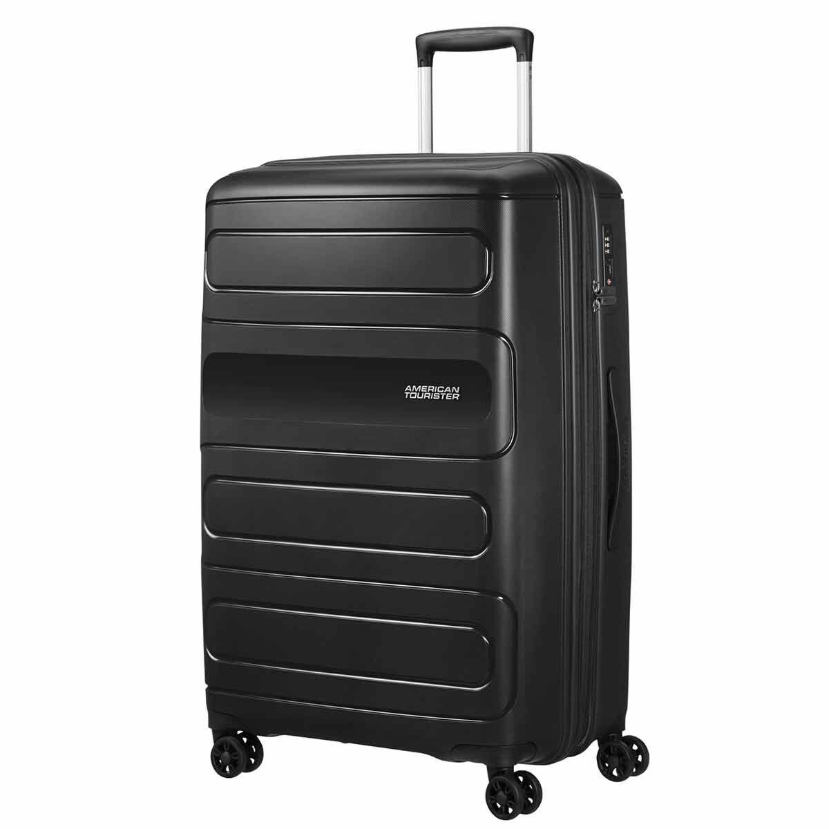 American Tourister Sunside Large Expandable Suitcase Black