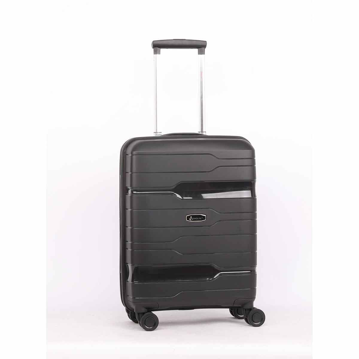 Aerolite 8 Wheel Hard Shell Cabin Luggage Case