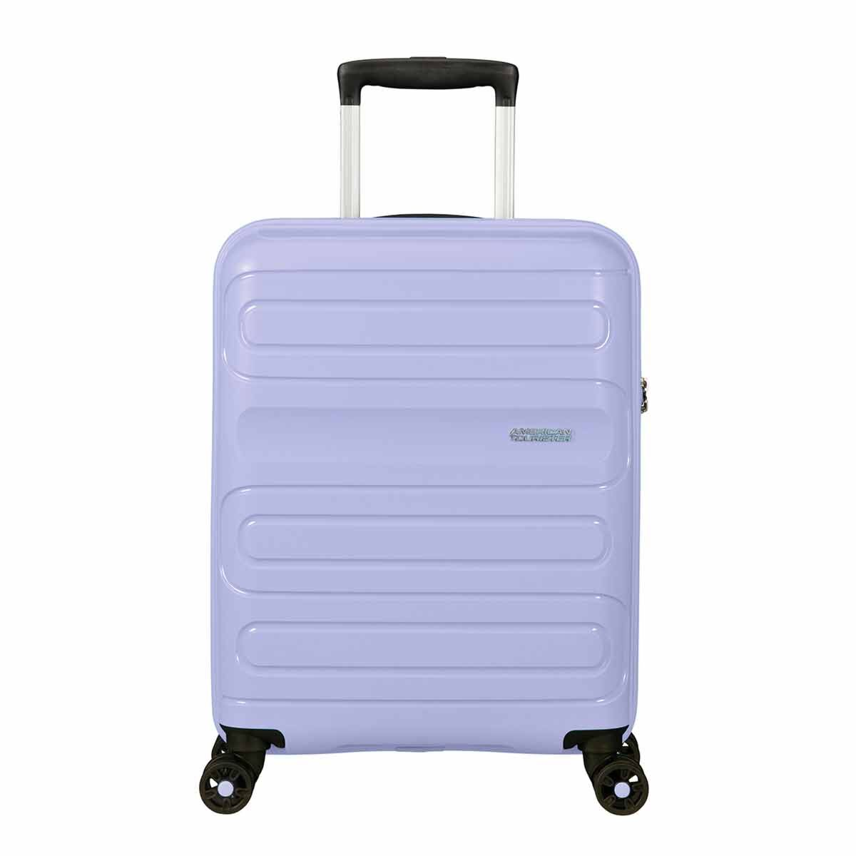 American Tourister Sunside Spinner Cabin Suitcase Pastel Blue 55cm