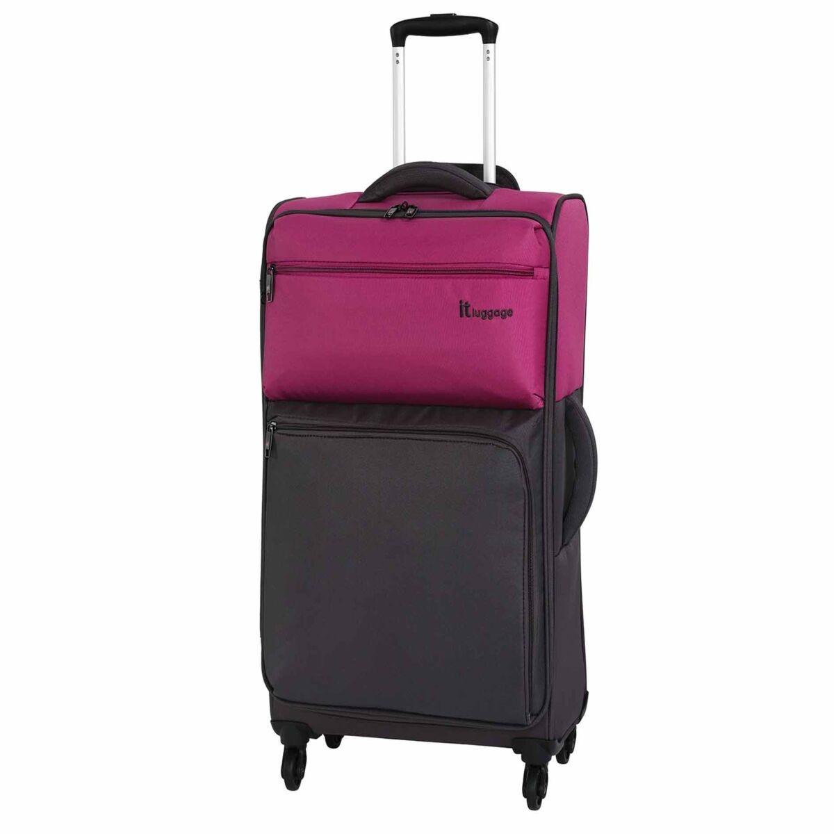IT Luggage Duo-Tone 4-Wheel Medium Suitcase