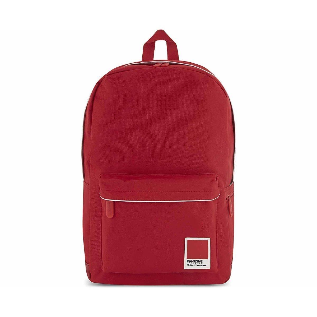 Pantone Laptop Backpack Large Tango Red