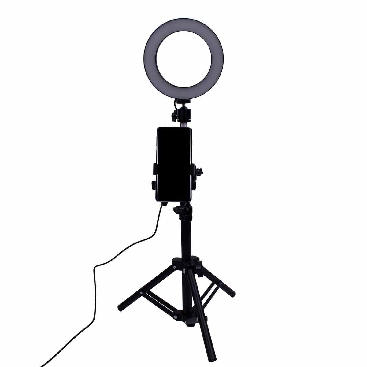 Vlogging Selfie Ring Light