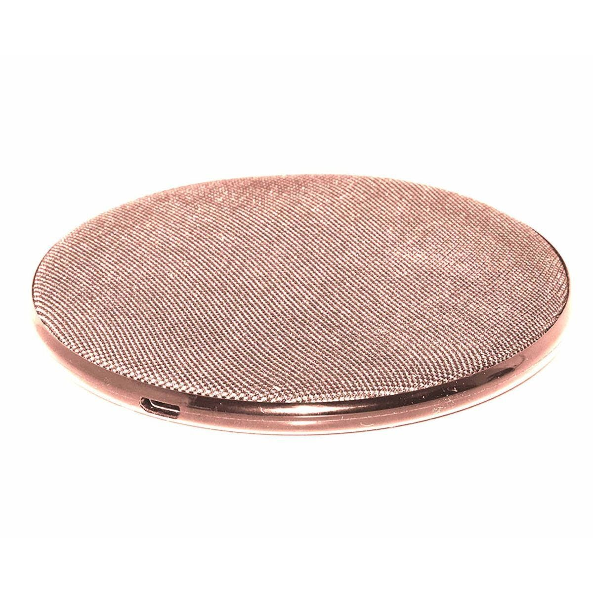 Mayhem Wireless Charger 5W Fabric Rose Gold