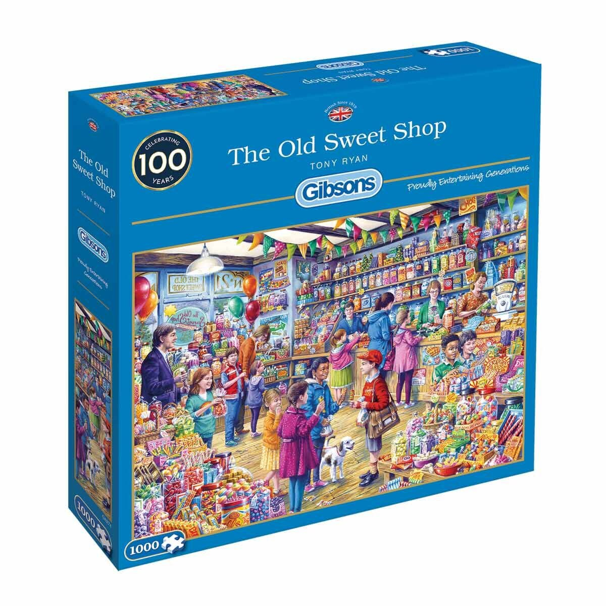 Gibsons The Old Sweet Shop 1000 Piece Jigsaw Puzzle