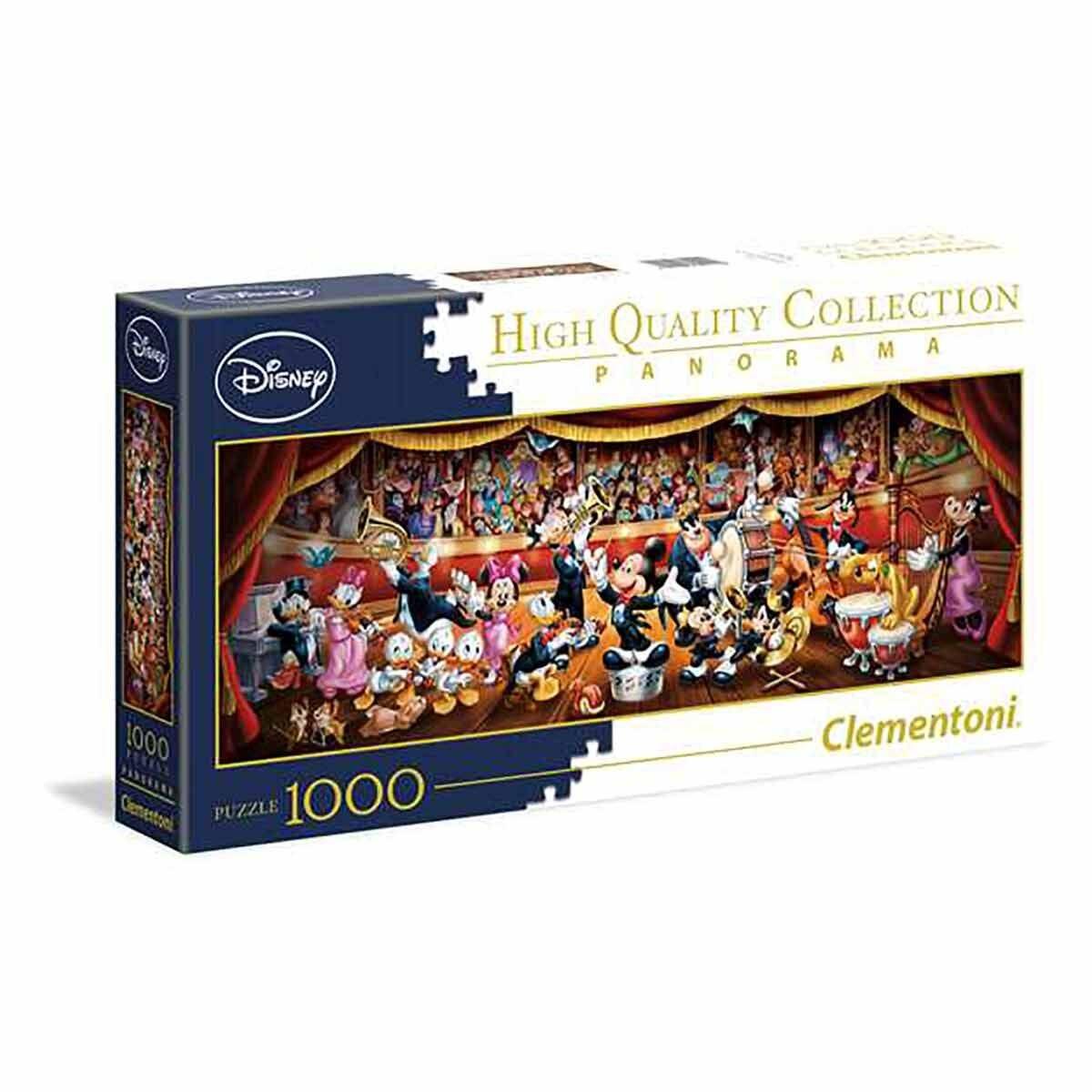 Clementoni Disney Classic Panorama 1000 Piece Jigsaw Puzzle