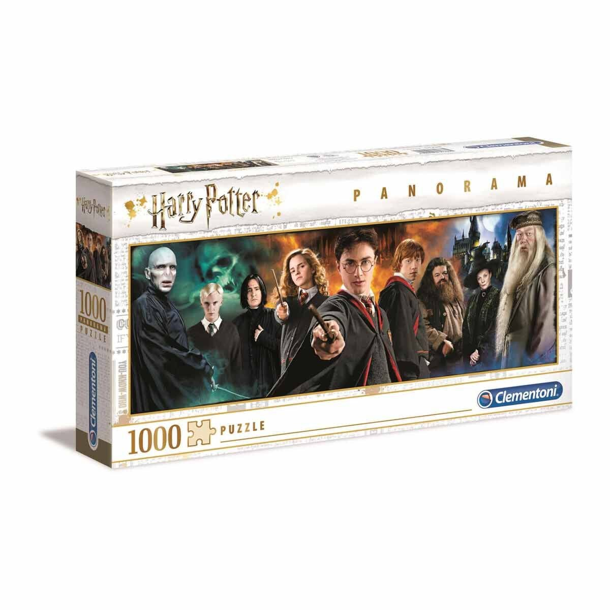 Clementoni Harry Potter Panorama 1000 Piece Jigsaw Puzzle