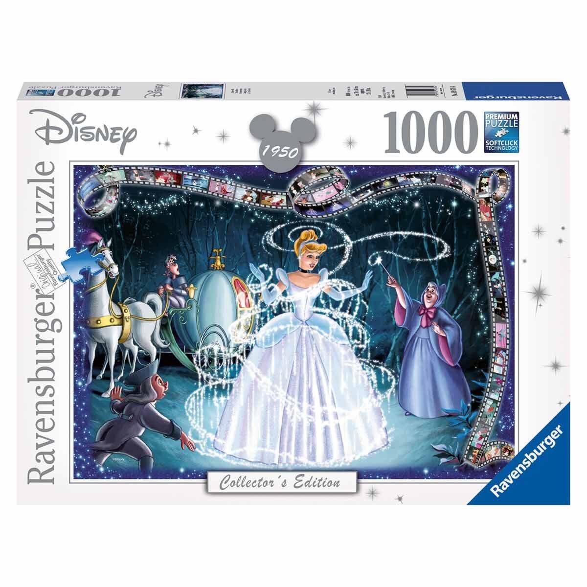 Ravensburger Collectors Edition Cinderella Puzzle 1000 Pieces
